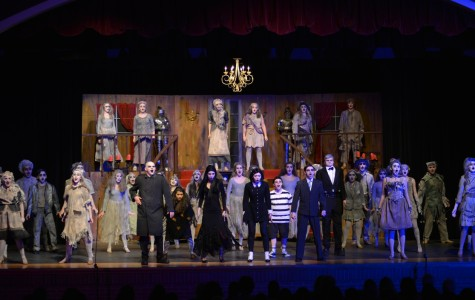 Addams Family closes it's highly successful run at LHS