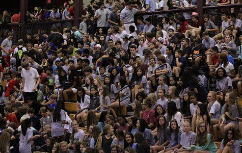 Lambert freshmen experience first high school events