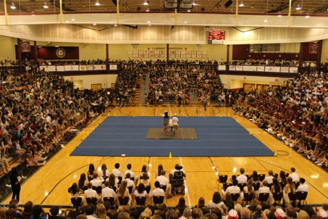 Lambert Longhorns gather together for homecoming pep rally