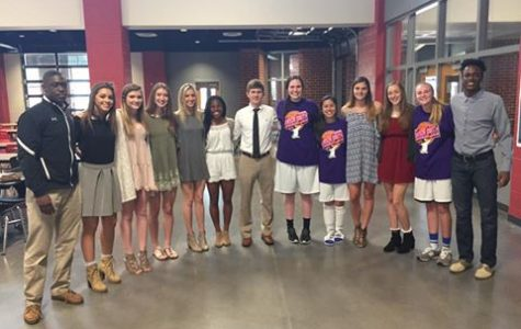 Lambert's basketball teams recognized in the county