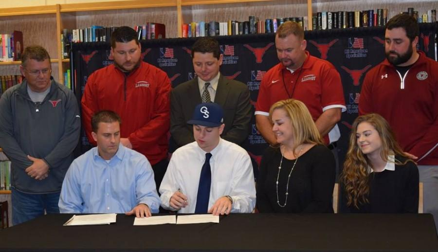 Tanner Hall, football, signs with Georgia Southern University