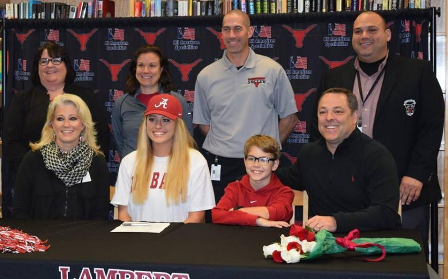 Keely Cartrett, soccer, signs with the University of Alabama