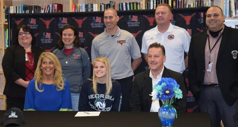 Brooke Endres, soccer, signs with Georgia College