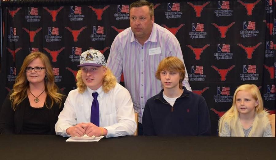 Anthony Ratliff, football, signs with East Carolina University