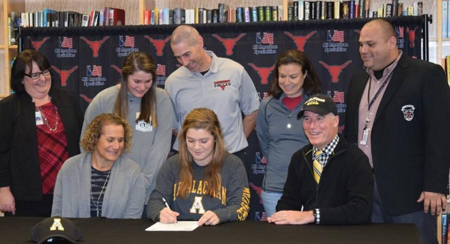 Maggie Hanusek, soccer, signs with Appalachian State