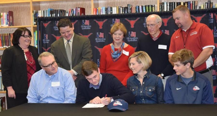 Sam Fleming, football, signs with Samford University