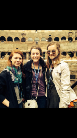 Me with some friends next to the Coliseum in Rome. Seeing the huge, decrepit arena in person was humbling and eye-opening, definitely one of my most memorable moments in high school.