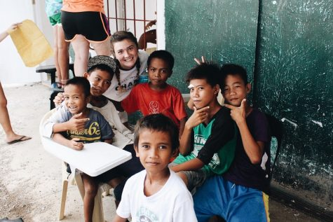 """""""While I was there, I definitely learned how blessed I am. I take so many things for granted that the people of the Philippines only dream of having, and it was just super eye-opening. Those people are the happiest and most joyful people I have ever met, and I know that God may have given them struggles, but ultimately He gave them the best gift."""""""