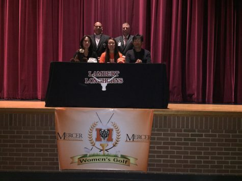 Tiffany Kang, tennis, signs with Mercer University