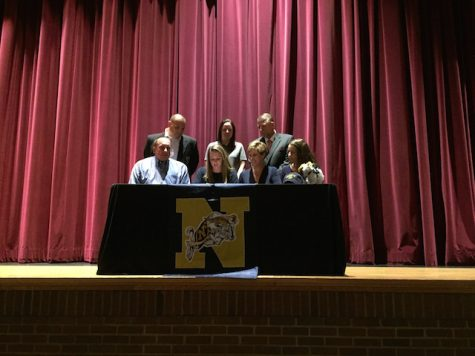 Christine McDonnell , golf, signs with United States Naval Academy