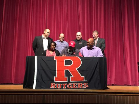 Jaryd Jean-Felix, lacrosse, signs with Rutgers University