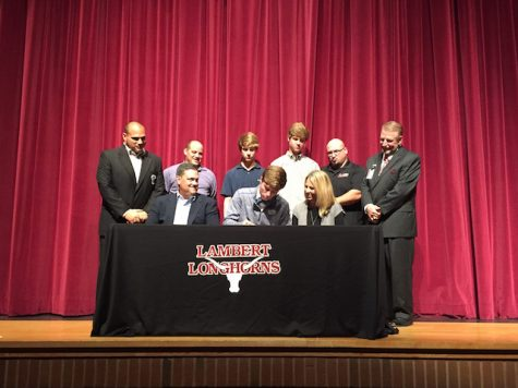 Eric Overbay, lacrosse, signs with Villanova University