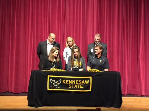 Peyton Smith, lacrosse, signs with Kennesaw State University