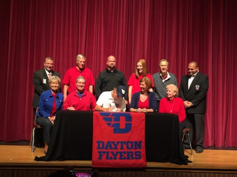 William Harper, tennis, signs with University of Dayton