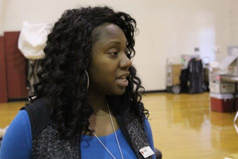 Team Advisor Shamocka Bolton speaks about why Lambert does this blood drive.