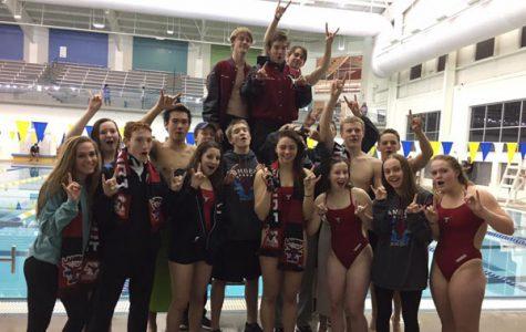 Lambert swim steals county victory