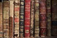 A set of books.