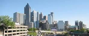 Downtown Atlanta.