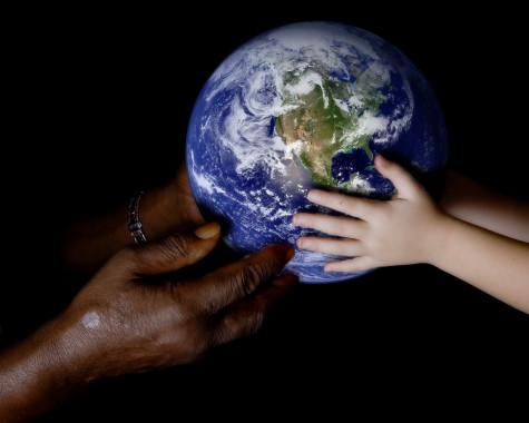 People joining together is necessary to promote world peace.