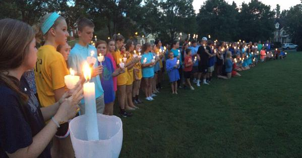 Lambert students gather in support of freshman Courtney Miller, car accident victim.