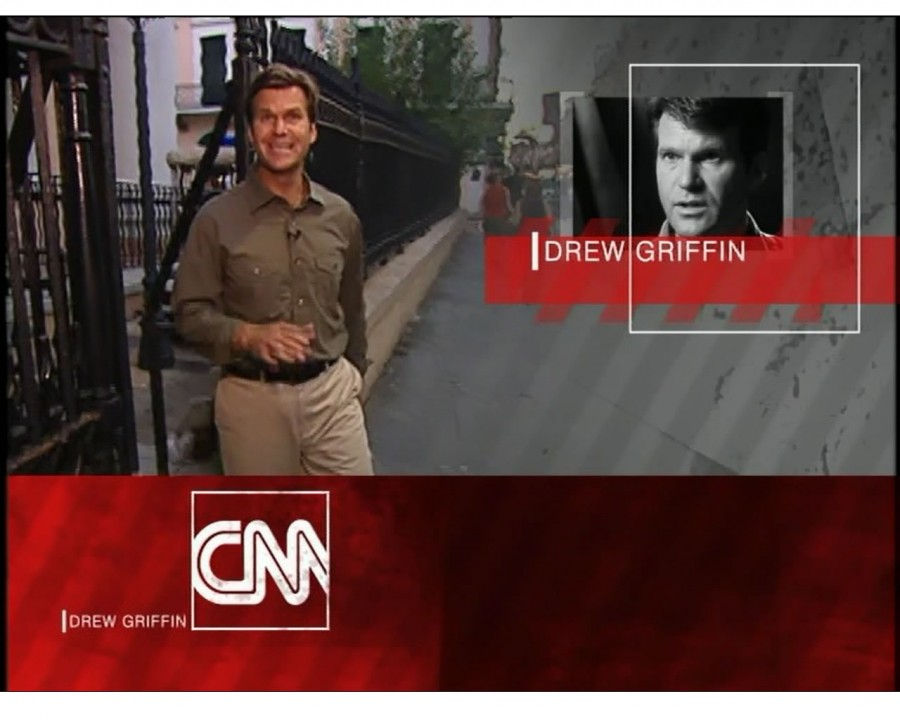Drew Griffin was featured in a CNN Special Investigations spotlight video that brought in as part of his presentation