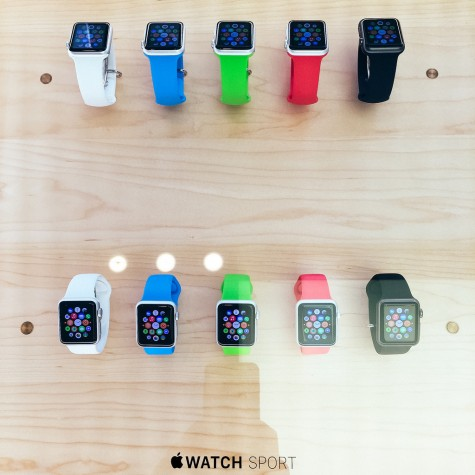 The new apple sport watch! Improvements and updates for the watch are expected to come out around the end of the year.