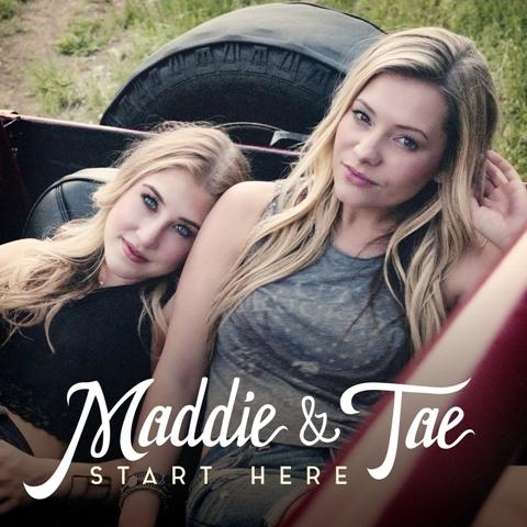 Madison Marlow (left) with Tae Dye (right) on their new album