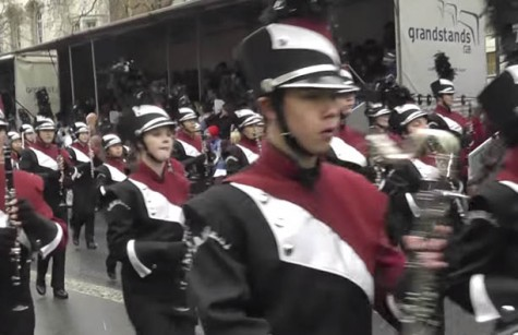 Lambert Stampede performs in the London Day Parade in late 2014.