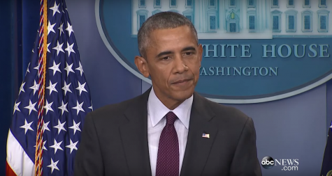 President Barack Obama presents a passionate challenge to the American people to support gun safety laws.