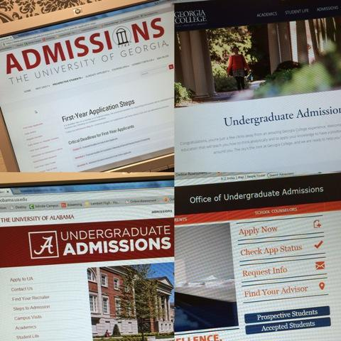 So many college admissions, so little time.