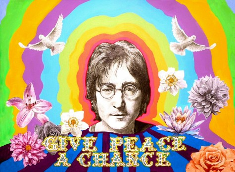 Inspiring words from John Lennon help me focus on the important things.