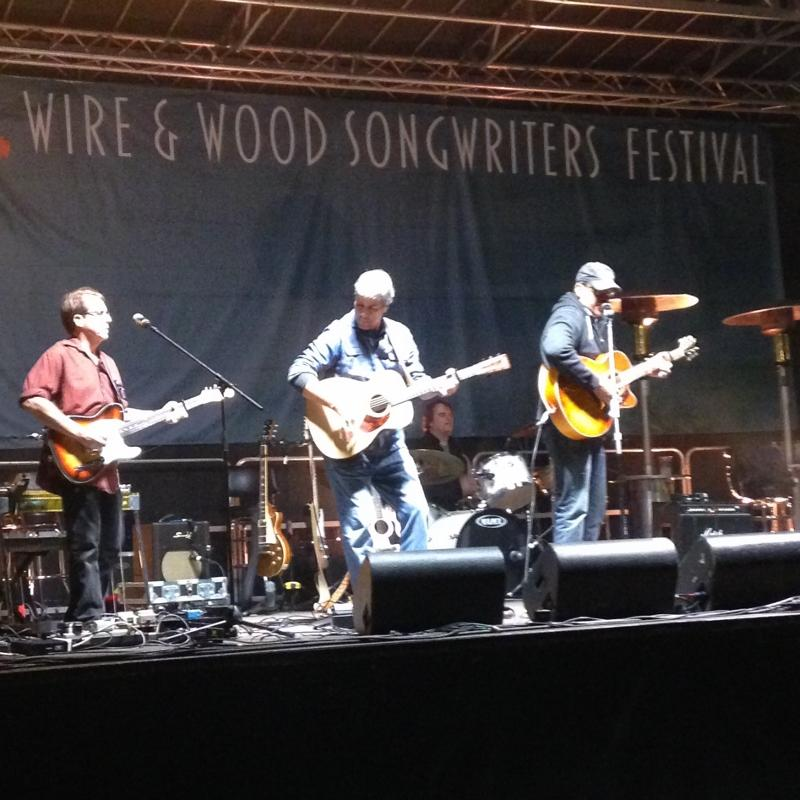 The Smokin' Novas perform on Saturday, October 17 at the Wire & Wood Festival.