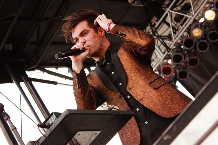 Frontman of Panic! At the Disco, Brendon Urie, delivers top-notch vocals for every live performance.