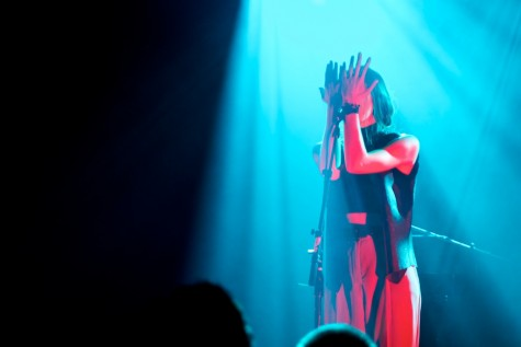 Polachek (songwriting, vocals, synthesizer, drum programming, arranging) immerses herself in Chairlift's intimate performance.