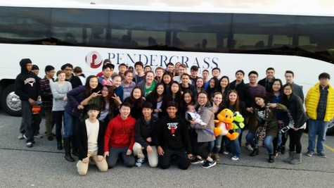 This photo was used with permission from the Lambert Band facebook page The 52 All District finalist ready for departure