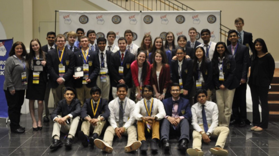 At the end of the long conference, the Lambert students of FBLA emerge triumphant, with many awards and various recognition for their hard work.