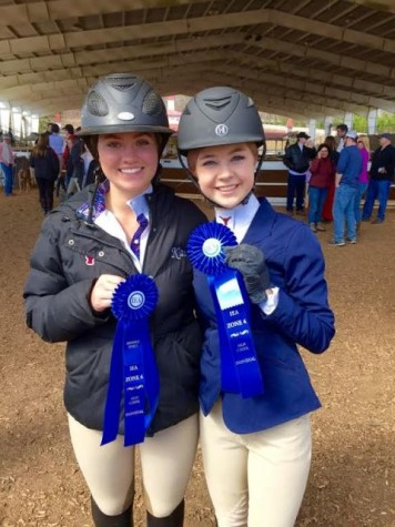 There was lots of excitement after the Lambert Equestrian Team's success after the regional competition.