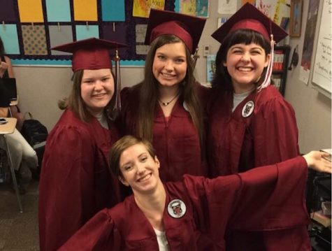 Lambert seniors Jessica Wilder, Jessica Borla, Olivia Pastore, and Kat Raynor are ready to graduate high school. Of course, along with graduation comes graduation parties.