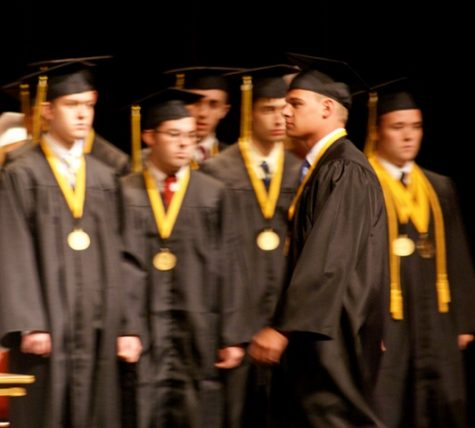 Students moving on to the next chapter of their life.