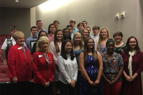5 Lambert students honored for participating in Boys & Girls State