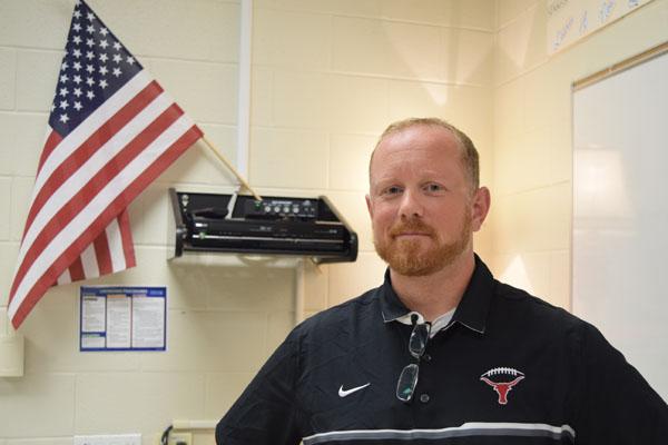 Coach Barrett, a Spanish teacher at Lambert High School, found his passion in education.