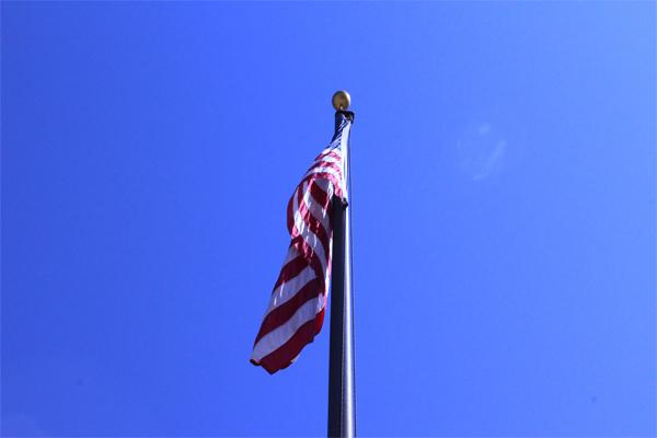 To many, the American flag is a longstanding representation of our ideals, hence it being showcased at football games.