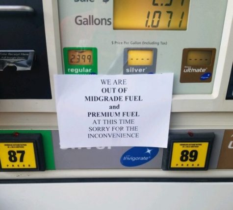 Many gas stations in Forsyth County were overflowing on Saturday and Sunday as people were trying to fill up their tanks before there was no more gas left. Many customers experienced a raise in gas prices and, in some cases, there being no more gas left to purchase.