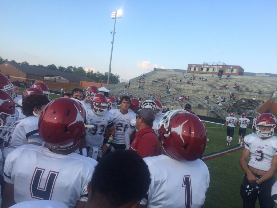 Lambert+football+prepares+to+battle+Cherokee+High+School