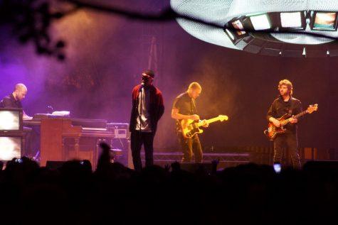 Singer/songwriter Frank Ocean performing at 2012 Lollapalooza captured by Flickr user Shane Hirschman.