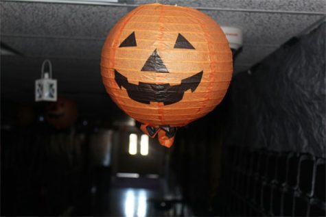 The halls of the school were flooded with Halloween decorations to create a better holiday for the students.