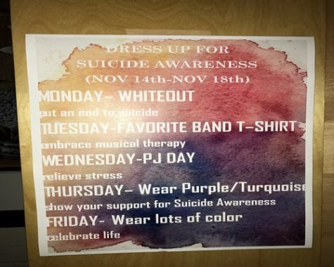Join The Lambert Project in dressing up for suicide awareness week.