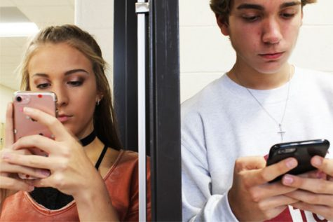 Teenagers are constantly on their phones making it easier to be exposed to the dangers of cyber bullying.