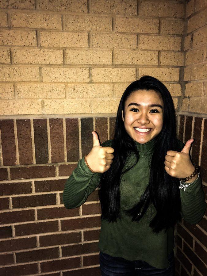 Junior, Caroline Pham, is studying in five AP classes