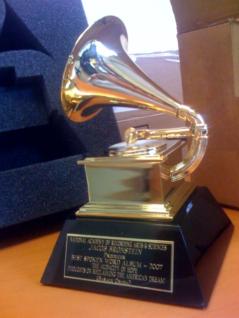 A Grammy Award awarded in 2007.
